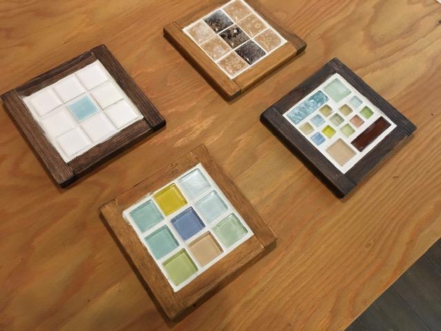 京都ワークショップ人気,手作りコースター