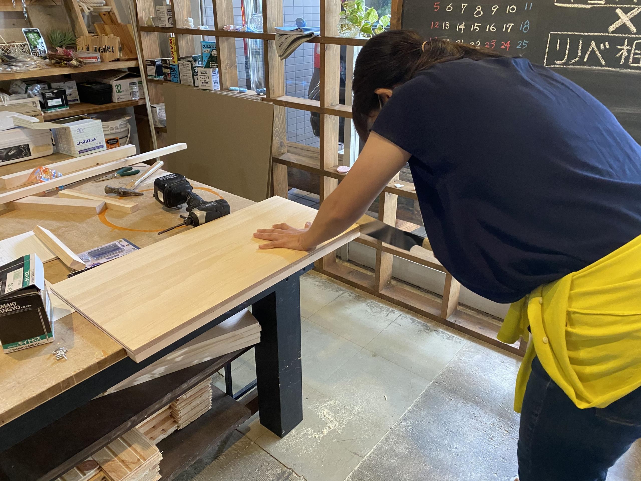 京都の夏休み工作づくり。
