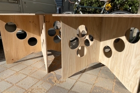DIYで「オリジナル作業台」づくり(^O^)/
