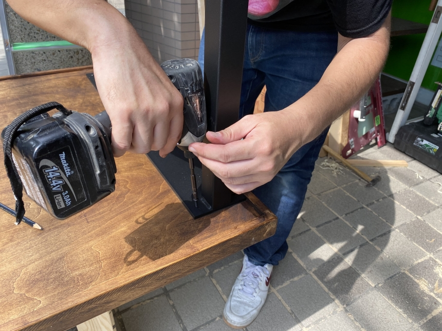 DIY家具の制作サポート(^O^)/@京都
