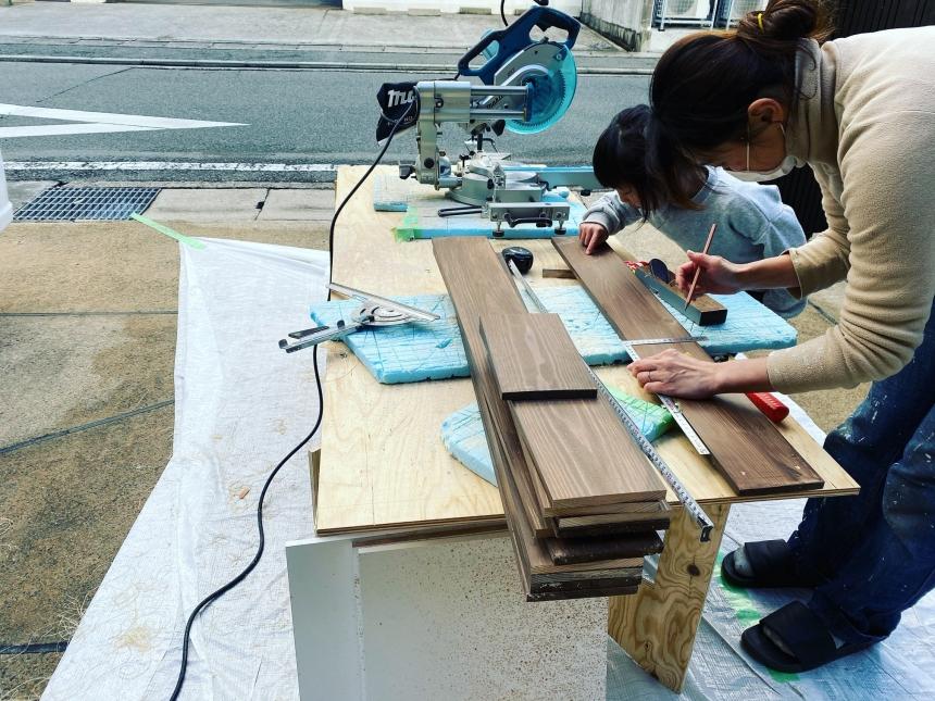 京都A様邸 「出張DIYサポート」2