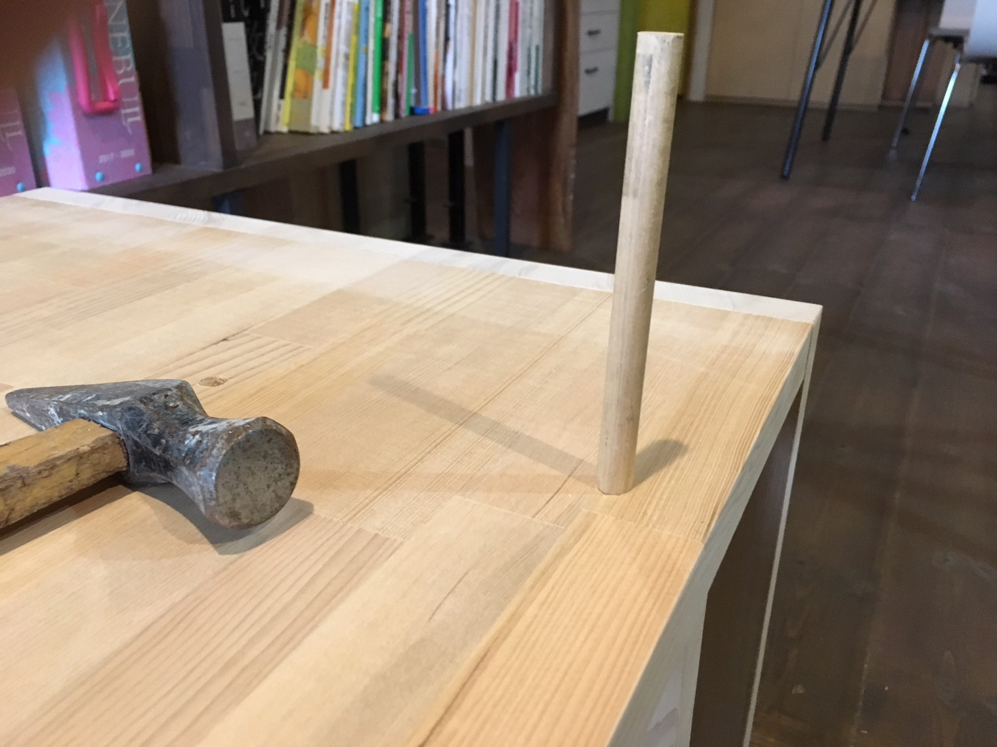 京都DIY家具 埋木