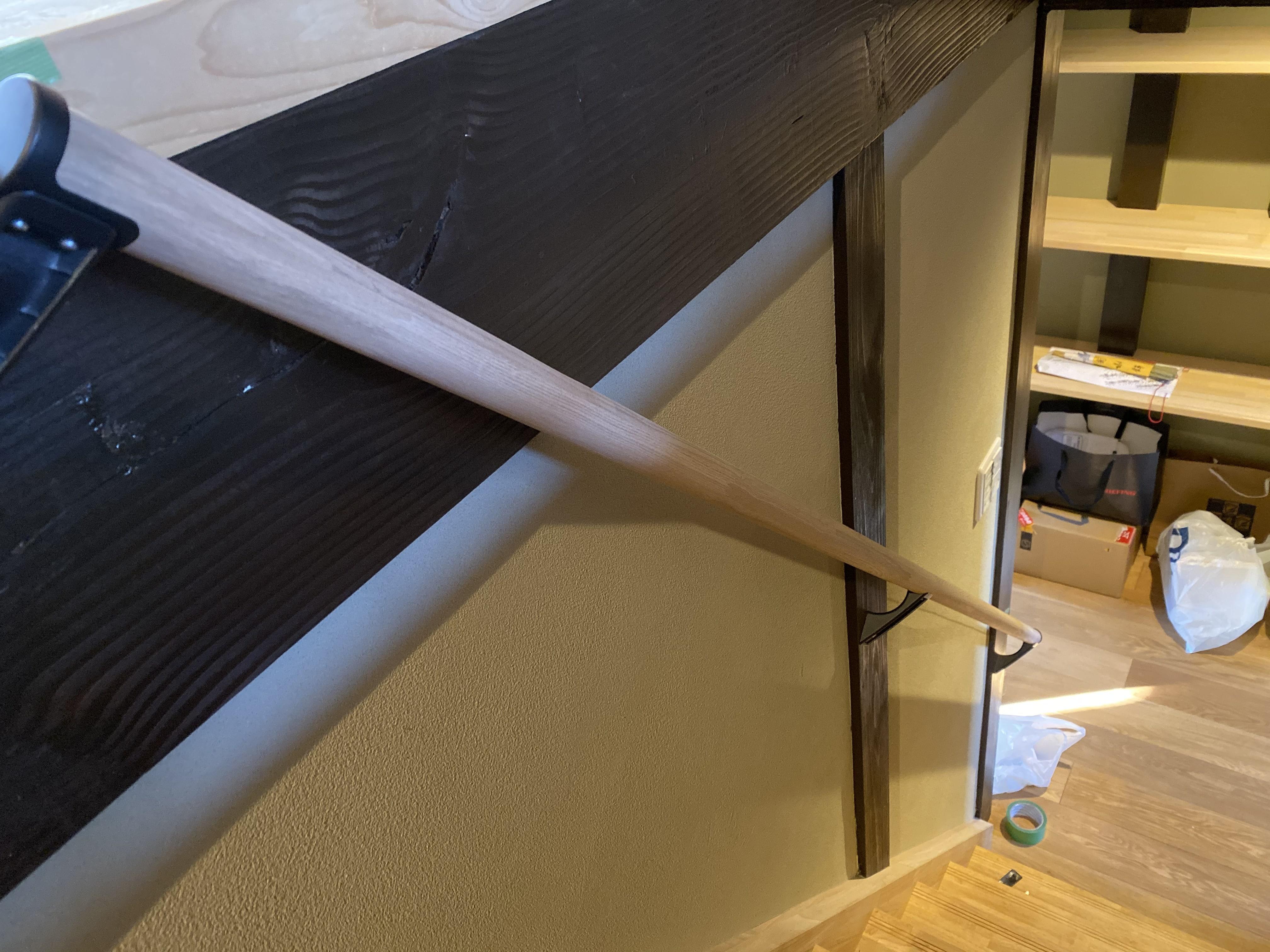 DIY京都 階段手すり