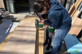 京都A様邸 「出張DIYサポート」1