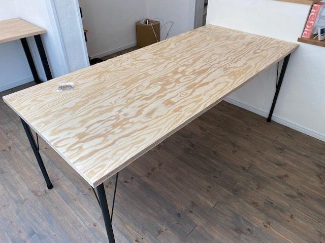 DIYでダイニングテーブル