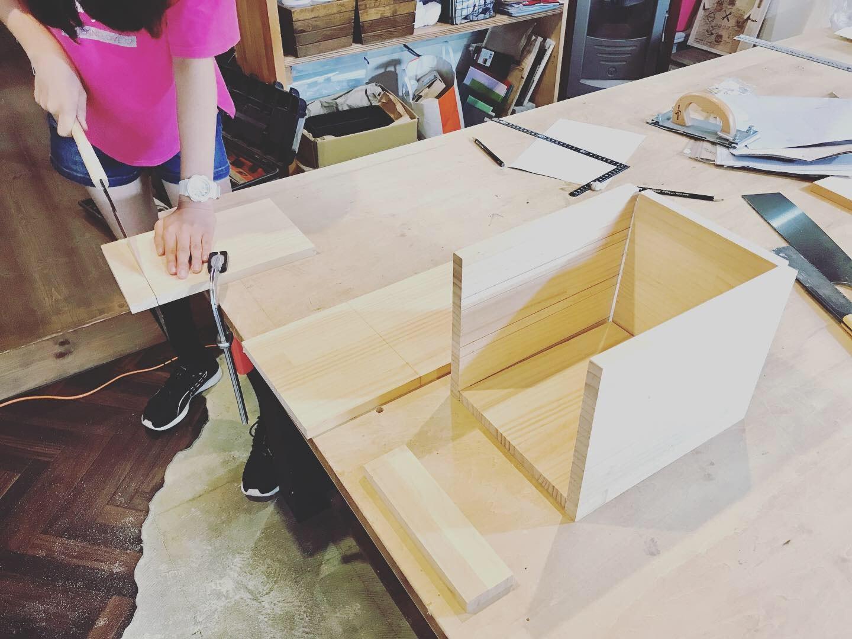 木工で課題づくり